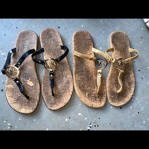 Michael Kors Sandals Bundle